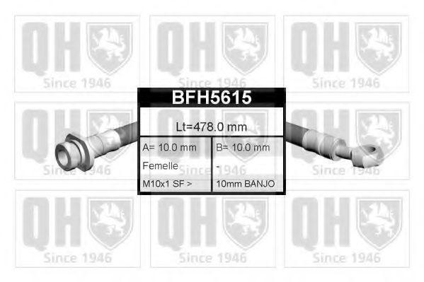 Шланг тормозной QUINTON HAZELL BFH5615