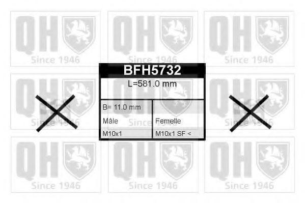 Шланг тормозной QUINTON HAZELL BFH5732