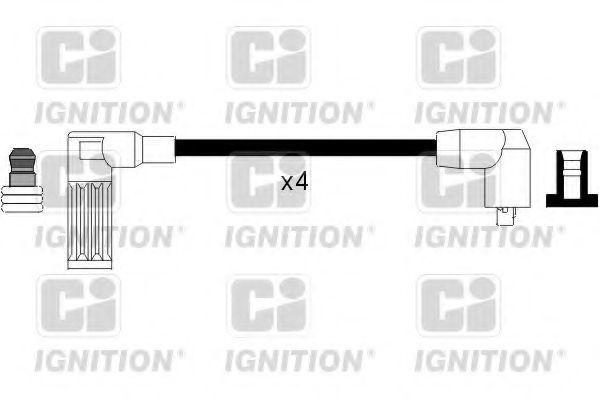 Комплект проводов зажигания QUINTON HAZELL XC1007