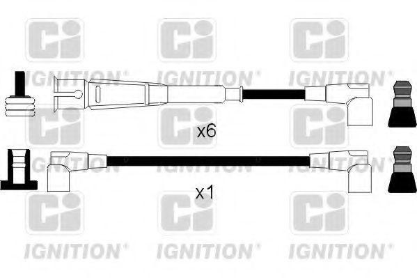 Комплект проводов зажигания QUINTON HAZELL XC1019
