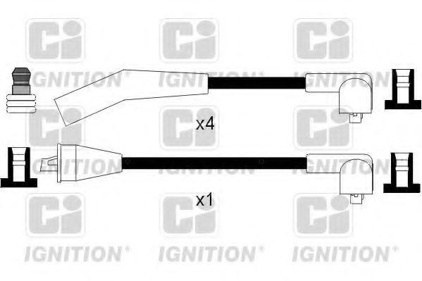 Комплект проводов зажигания QUINTON HAZELL XC1022