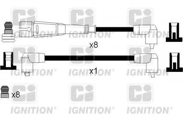 Комплект проводов зажигания QUINTON HAZELL XC1024