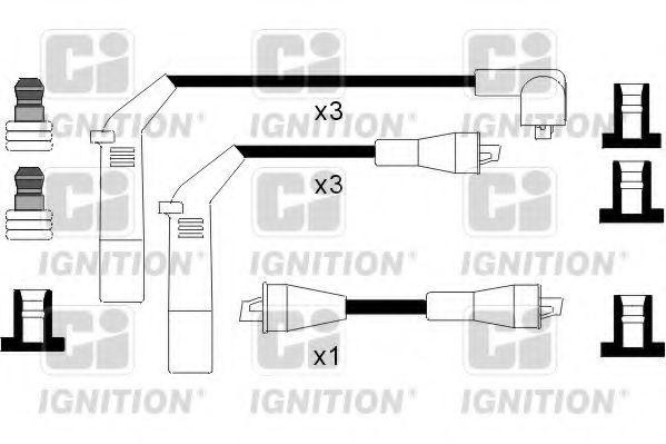 Комплект проводов зажигания QUINTON HAZELL XC1026