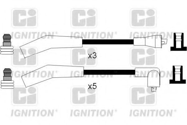 Комплект проводов зажигания QUINTON HAZELL XC1031
