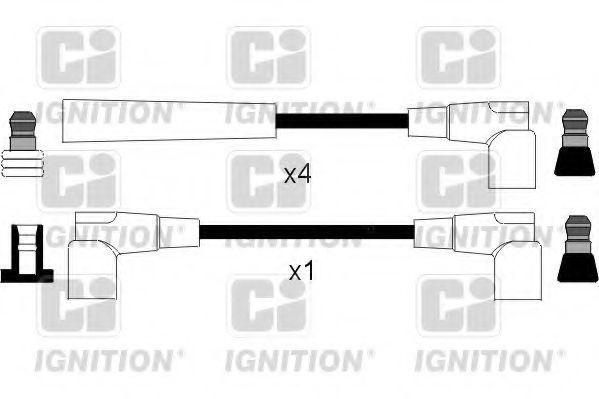 Комплект проводов зажигания QUINTON HAZELL XC1037