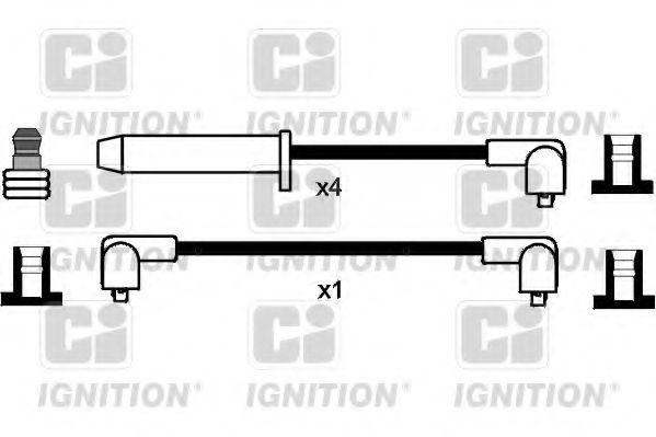 Комплект проводов зажигания QUINTON HAZELL XC104