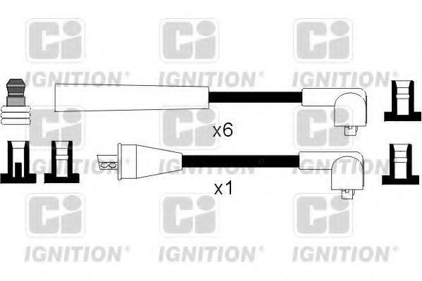 Комплект проводов зажигания QUINTON HAZELL XC1041