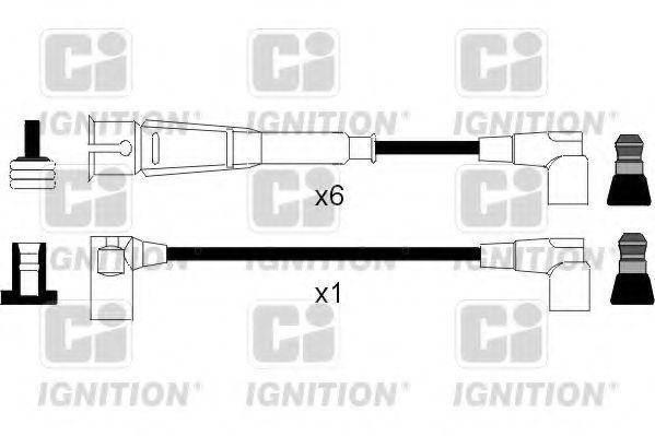 Комплект проводов зажигания QUINTON HAZELL XC1042