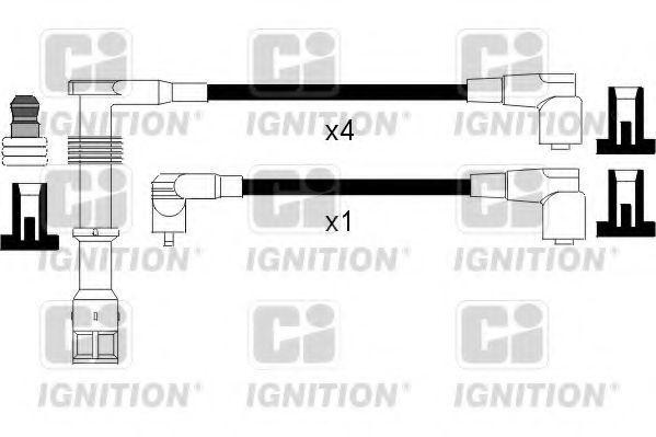 Комплект проводов зажигания QUINTON HAZELL XC1046
