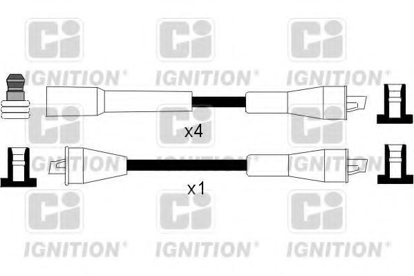 Провода высоковольтные комплект QUINTON HAZELL XC1054