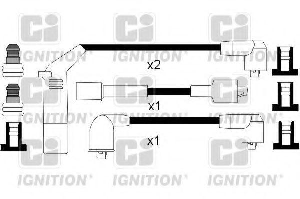 Провода высоковольтные комплект QUINTON HAZELL XC1059