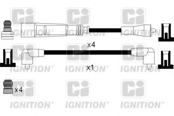 Комплект проводов зажигания QUINTON HAZELL XC1063