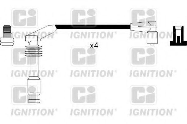 Комплект проводов зажигания QUINTON HAZELL XC1066