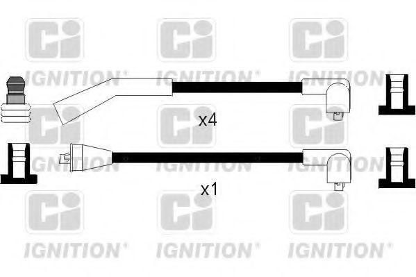 Комплект проводов зажигания QUINTON HAZELL XC1069