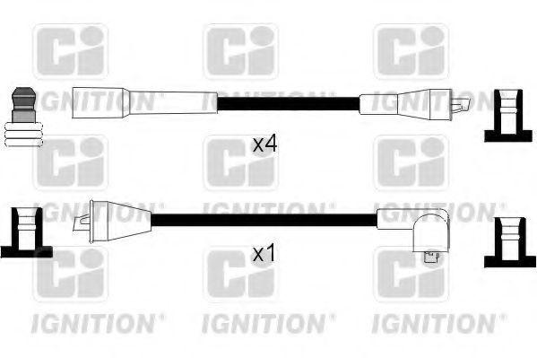 Комплект проводов зажигания QUINTON HAZELL XC1075
