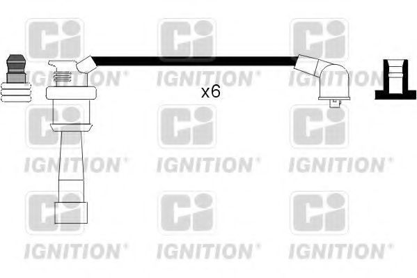 Комплект проводов зажигания QUINTON HAZELL XC1076