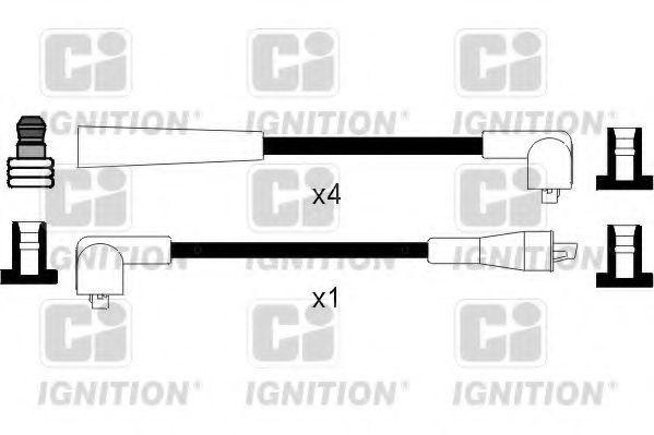 Комплект проводов зажигания QUINTON HAZELL XC1079