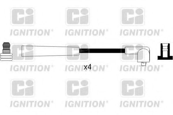 Комплект проводов зажигания QUINTON HAZELL XC1081