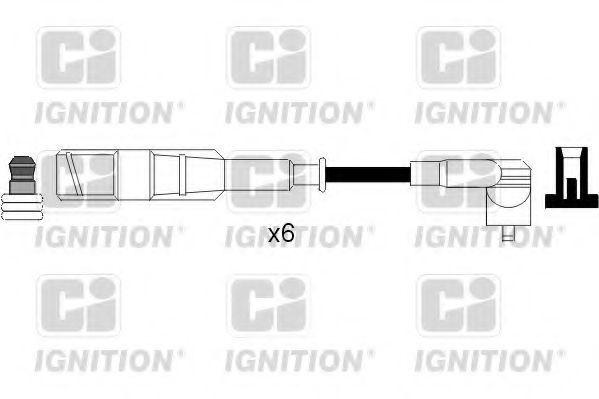 Комплект проводов зажигания QUINTON HAZELL XC1088