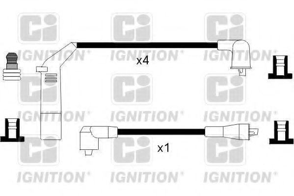 Комплект проводов зажигания QUINTON HAZELL XC1091