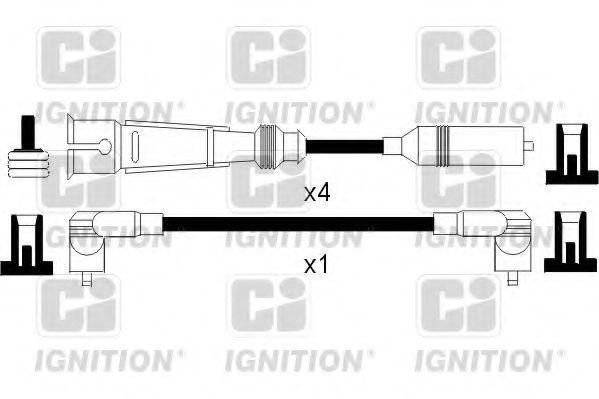 Комплект проводов зажигания QUINTON HAZELL XC1093