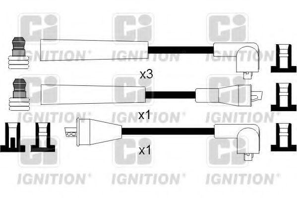 Комплект проводов зажигания QUINTON HAZELL XC1094