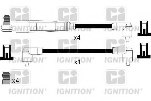 Комплект проводов зажигания QUINTON HAZELL XC1105