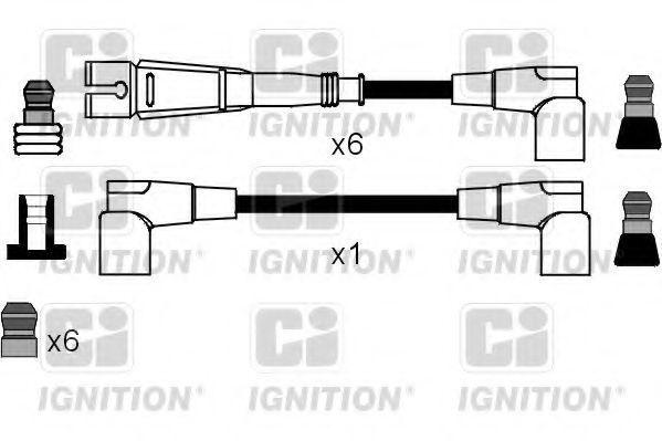 Комплект проводов зажигания QUINTON HAZELL XC1106