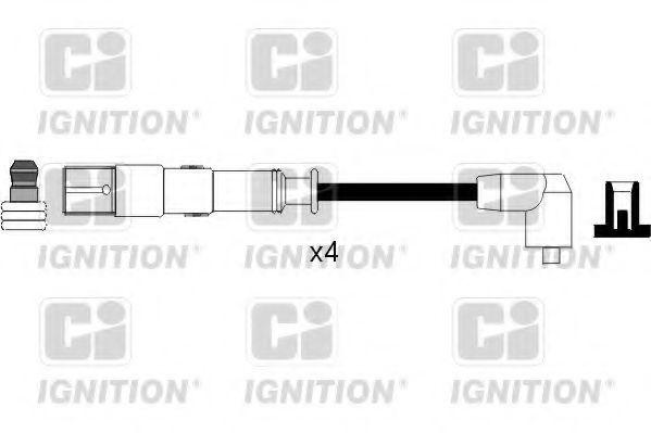 Комплект проводов зажигания QUINTON HAZELL XC1114
