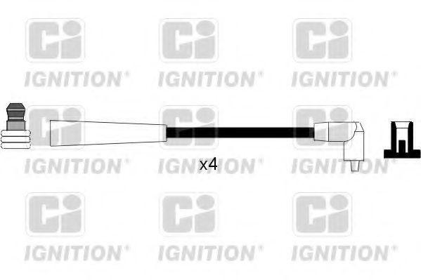 Комплект проводов зажигания QUINTON HAZELL XC1116