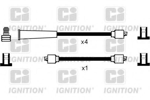 Комплект проводов зажигания QUINTON HAZELL XC1117