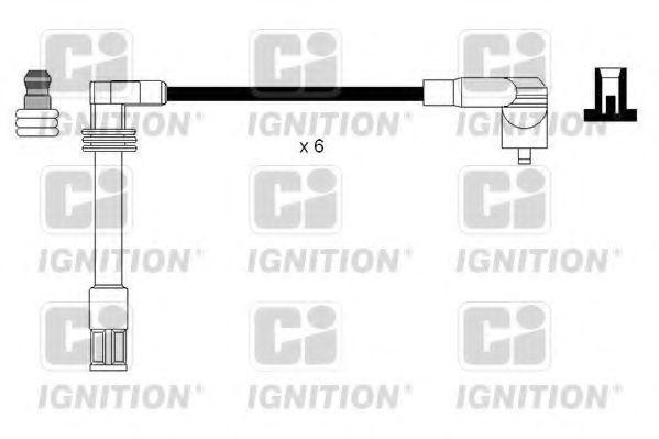 Комплект проводов зажигания QUINTON HAZELL XC1122