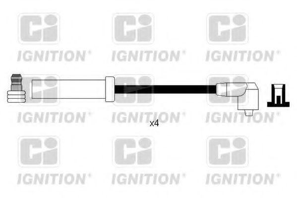 Комплект проводов зажигания QUINTON HAZELL XC1126