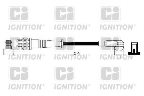 Комплект проводов зажигания QUINTON HAZELL XC1128