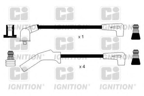 Комплект проводов зажигания QUINTON HAZELL XC1132