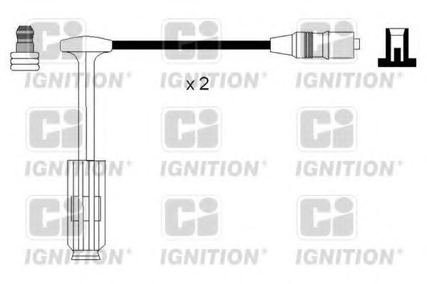 Комплект проводов зажигания QUINTON HAZELL XC1135