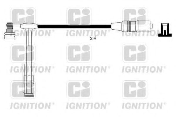Комплект проводов зажигания QUINTON HAZELL XC1136