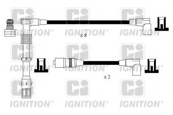 Комплект проводов зажигания QUINTON HAZELL XC1155