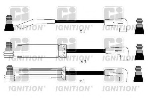 Комплект проводов зажигания QUINTON HAZELL XC1172