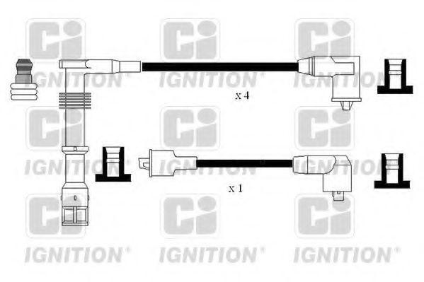 Комплект проводов зажигания QUINTON HAZELL XC1175