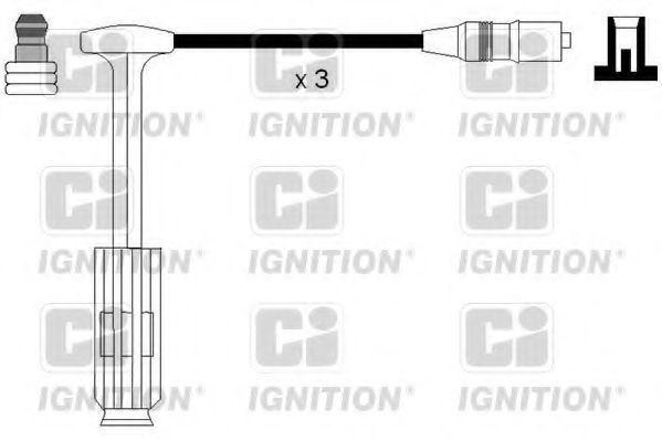 Комплект проводов зажигания QUINTON HAZELL XC1181