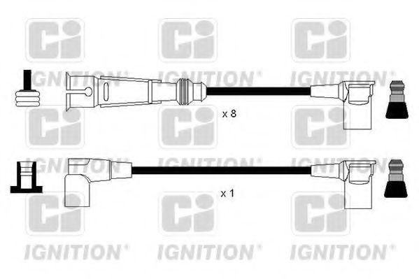 Комплект проводов зажигания QUINTON HAZELL XC1182