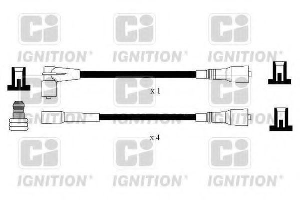 Комплект проводов зажигания QUINTON HAZELL XC1187