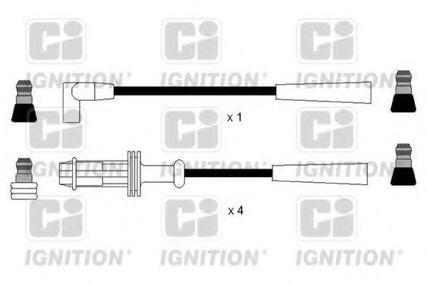 Комплект проводов зажигания QUINTON HAZELL XC1189
