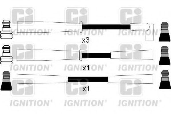 Комплект проводов зажигания QUINTON HAZELL XC120