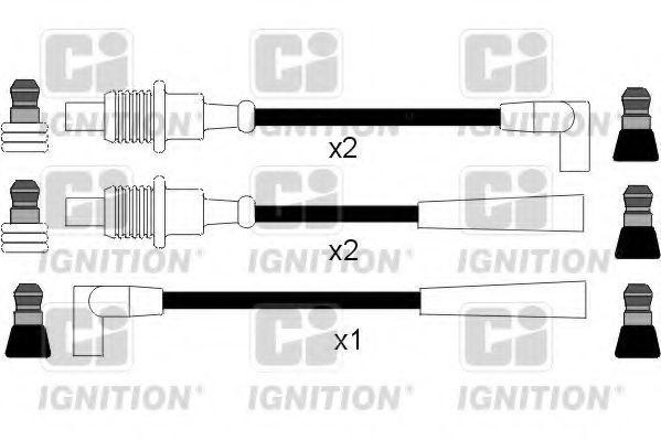 Комплект проводов зажигания QUINTON HAZELL XC121