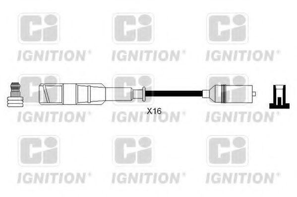 Комплект проводов зажигания QUINTON HAZELL XC1225
