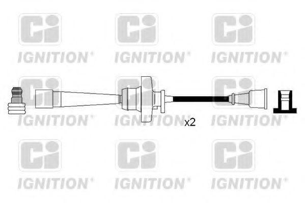 Комплект проводов зажигания QUINTON HAZELL XC1227