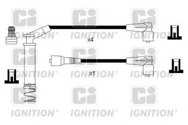 Комплект проводов зажигания QUINTON HAZELL XC1236
