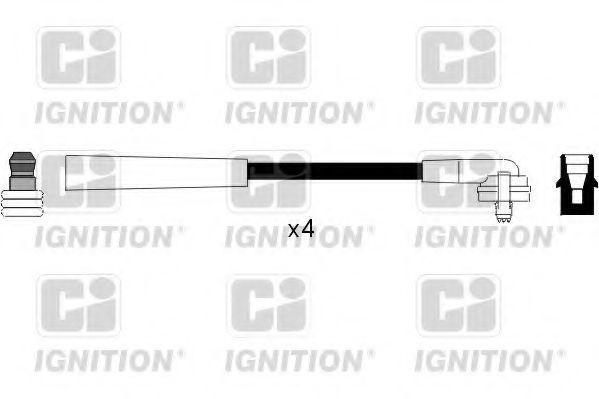 Комплект проводов зажигания QUINTON HAZELL XC154